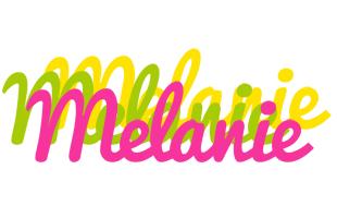 Melanie sweets logo