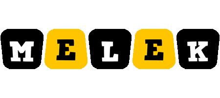 Melek boots logo
