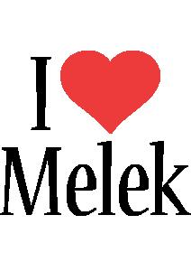 Melek i-love logo