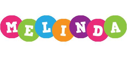 Melinda friends logo
