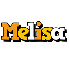 Melisa cartoon logo