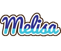 Melisa raining logo
