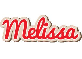 Melissa chocolate logo