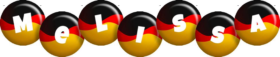 Melissa german logo