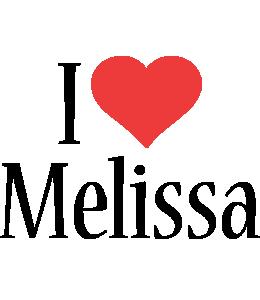 Melissa i-love logo