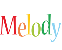 Melody birthday logo