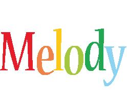 Melody birthday logo