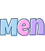 Men pastel logo