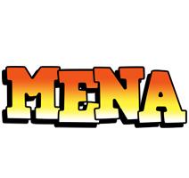 Mena sunset logo