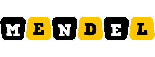 Mendel boots logo