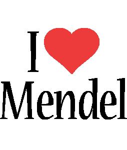 Mendel i-love logo