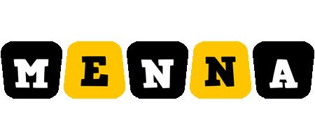Menna boots logo