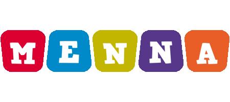 Menna daycare logo