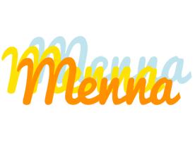 Menna energy logo