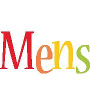 Mens birthday logo