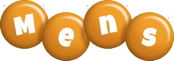 Mens candy-orange logo