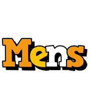 Mens cartoon logo