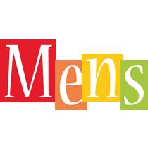 Mens colors logo