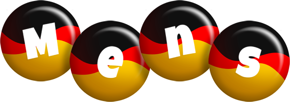 Mens german logo