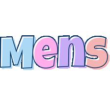 Mens pastel logo