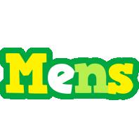 Mens soccer logo