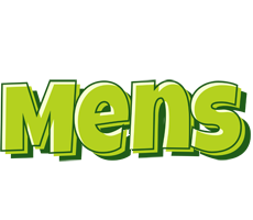 Mens summer logo