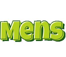 Mens summer logo