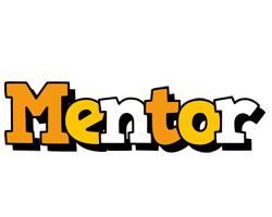 Mentor cartoon logo