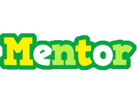 Mentor soccer logo