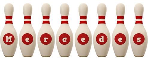 Mercedes bowling-pin logo