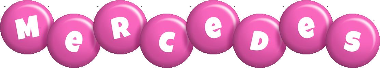 Mercedes candy-pink logo