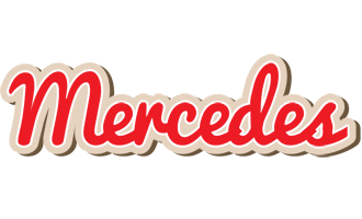 Mercedes chocolate logo