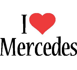 Mercedes i-love logo