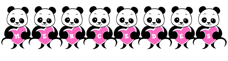 Mercedes love-panda logo