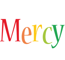 Mercy birthday logo
