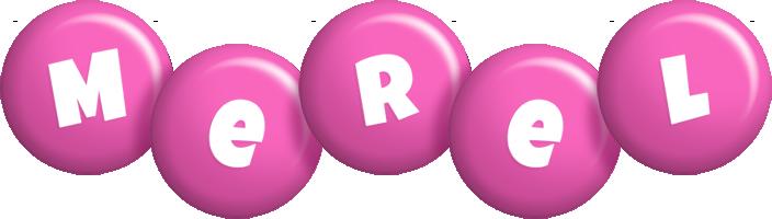 Merel candy-pink logo
