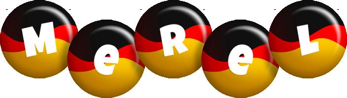 Merel german logo
