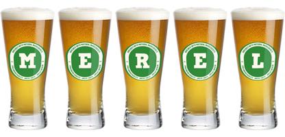 Merel lager logo