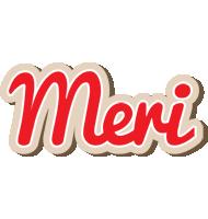 Meri chocolate logo