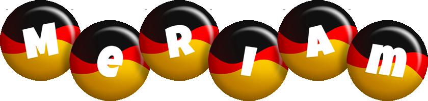 Meriam german logo