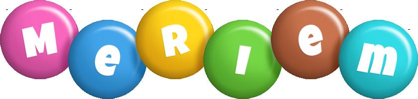 Meriem candy logo