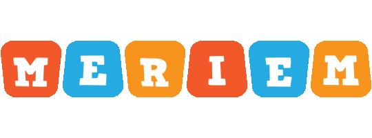 Meriem comics logo
