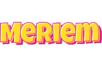 Meriem kaboom logo
