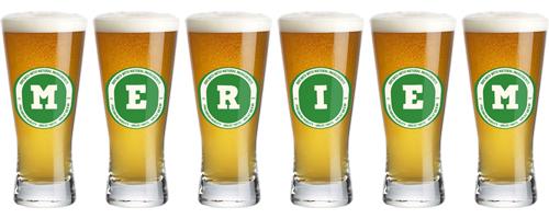 Meriem lager logo