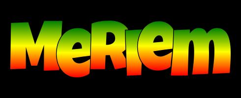 Meriem mango logo