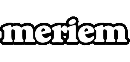 Meriem panda logo