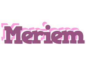 Meriem relaxing logo