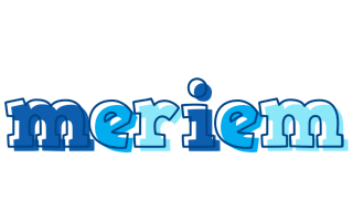 Meriem sailor logo