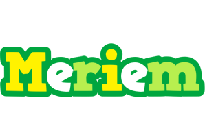 Meriem soccer logo