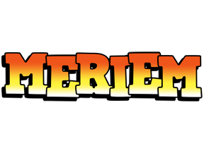 Meriem sunset logo